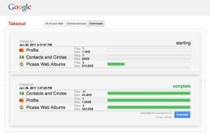Как сделать backup своих данных в сервисах Google