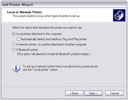 Add Printer