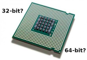 64-разрядных процессоров